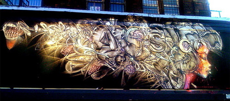 David Choe in New York