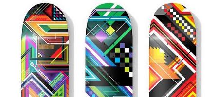 MWM Graphics Vector Funk Skateboards