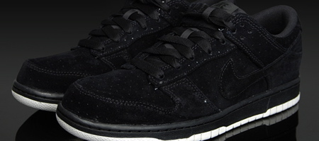 Nike Dunk Low Premium-Black Suede