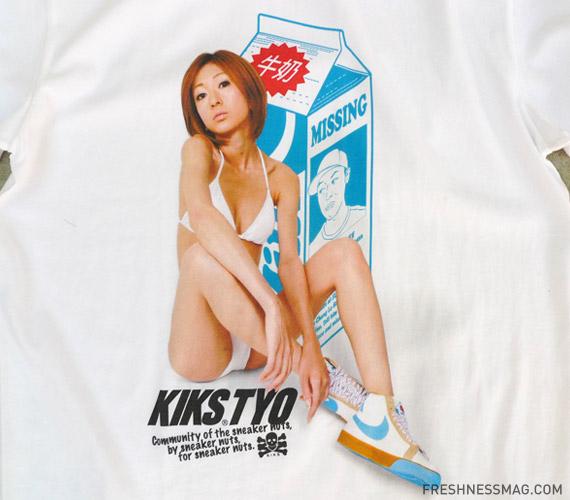 KIKS TYO x Fly Streetwear Milk Blazer T-Shirt 2