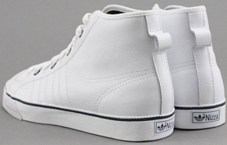 Adidas Nizza High White