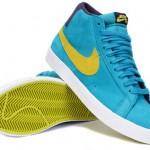 Nike Blazer SB Premium Aquamarine / Electrolime 1