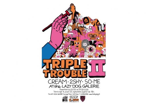 So-Me x 2SHY x CREAM Triple Trouble II Exhibition 2