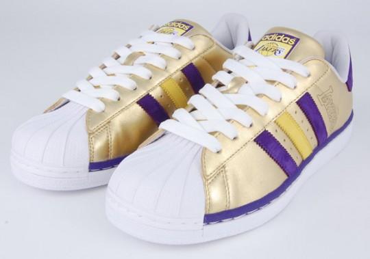Adidas Originals LA Lakers 'Superstar' 1