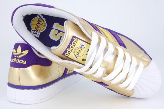 Adidas Originals LA Lakers 'Superstar' 3