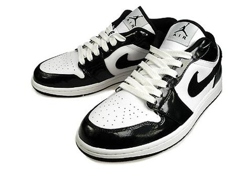 Nike Air Jordan 1 'Phat Low' Black & White 1