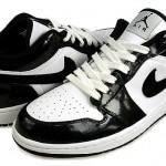 Nike Air Jordan 1 'Phat Low' Black & White 2