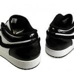 Nike Air Jordan 1 'Phat Low' Black & White 3