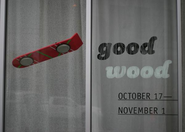 Good Wood 2009 at Slingluff Gallery