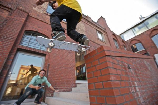 Mekanism Skateboards x Olafur Eliasson 'Your Mercury Ocean' Skateboards-1