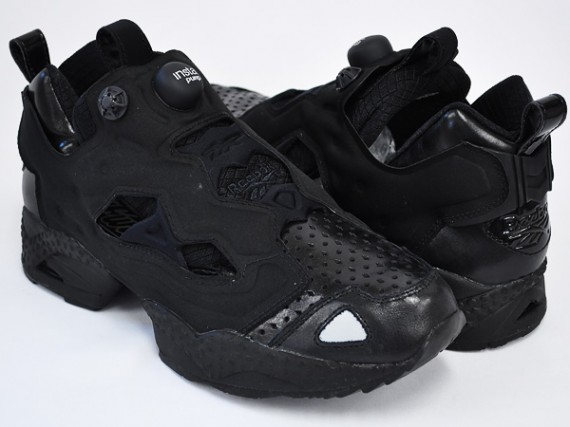 Reebok 'Perfectly Black' Pump Pack 4