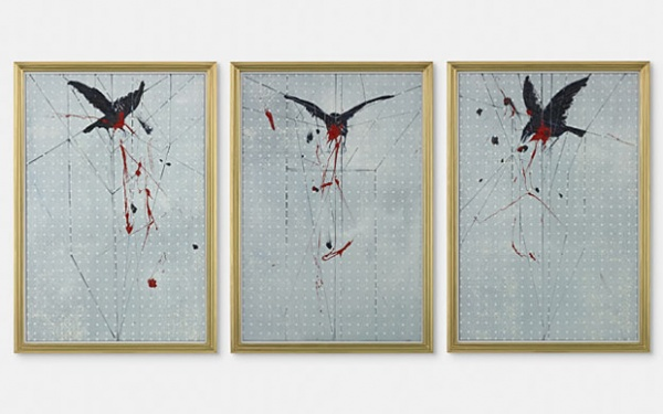 Damien Hirst 'Nothing Matters' Exhibition Preview 1