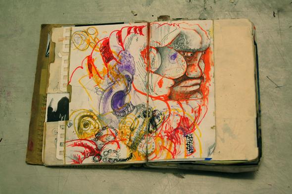 Ryan Riegner's Sketchbook