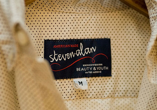 Steven Alan x Beauty & Youth United Arrows Capsule Collection 1