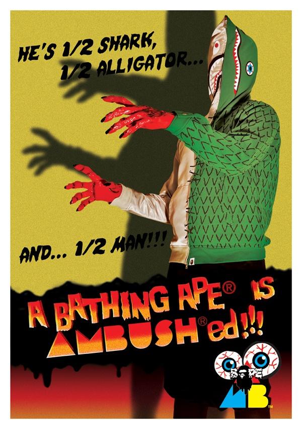 Bape x Ambush 'Kaiju' Collection 1