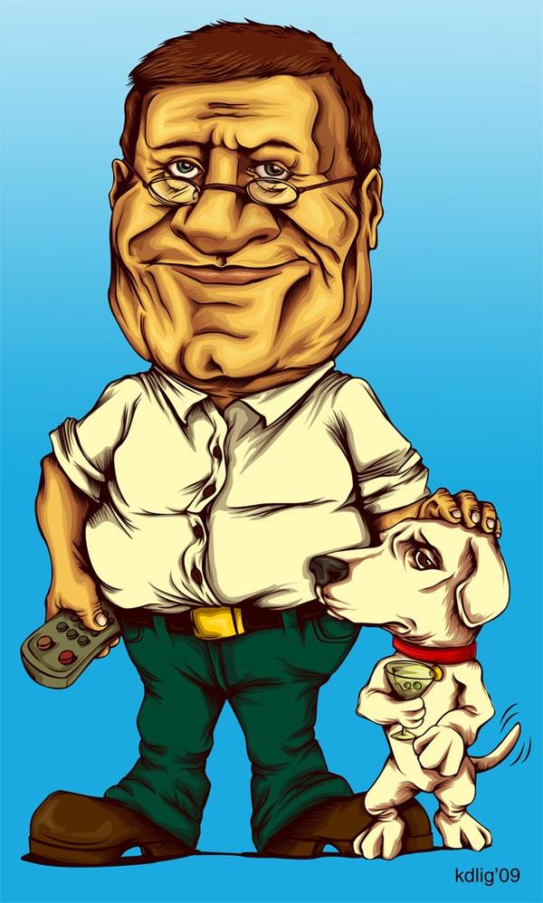Kristy Anne Ligones's Family Guy Portraits 2