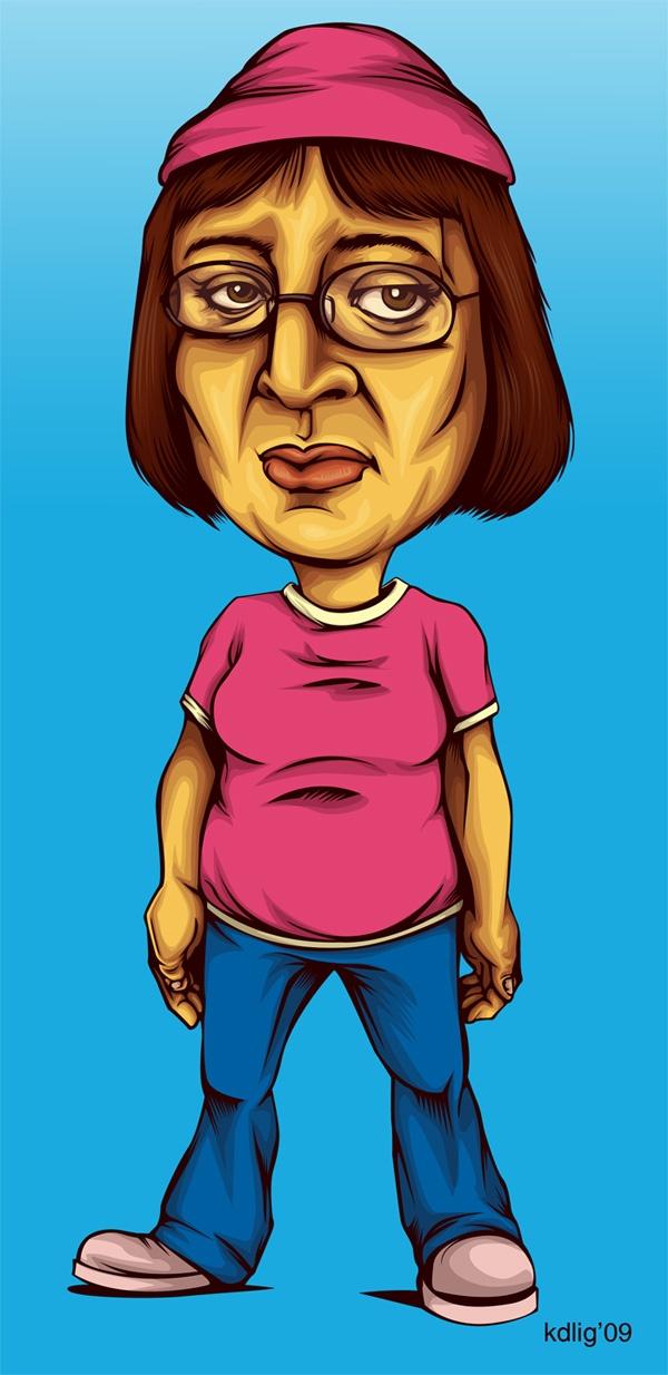 Kristy Anne Ligones's Family Guy Portraits 5