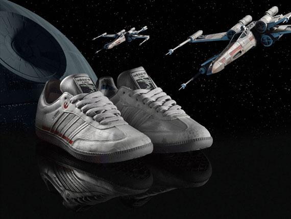 Star Wars x Adidas Originals X-Wing Sambas 1