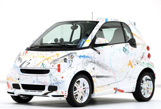 Rolf Sachs x Smart 'Sprinkle' Car 1