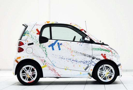 Rolf Sachs x Smart 'Sprinkle' Car 2