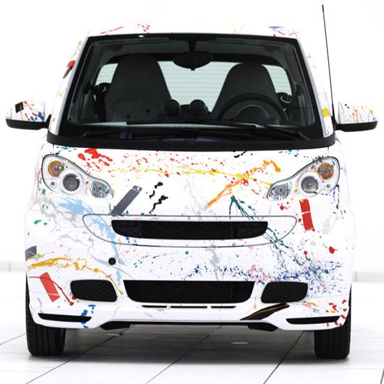 Rolf Sachs x Smart 'Sprinkle' Car 3