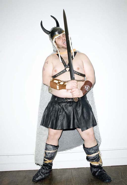 Terry Richardson's 'Bears vs. Vikings' for Vice Magazine 5