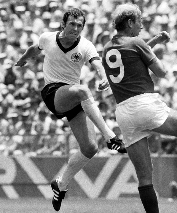 Adidas Originals Beckenbauer All Round Trainers 03