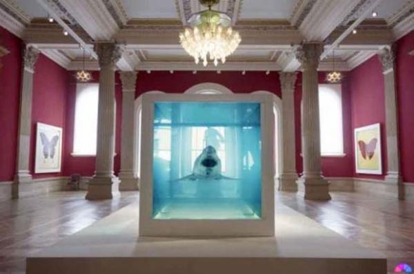 Damien Hirst at the Oceanographic Museum of Monaco 05