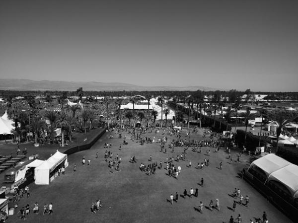 Hedi Slimane at Coachella 2010 04