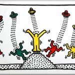 Keith Haring 'Urban Legend' at the Carmichael Gallery 05