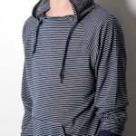 Navy Stripe 'Black Days' Pullover by Nortwick 05