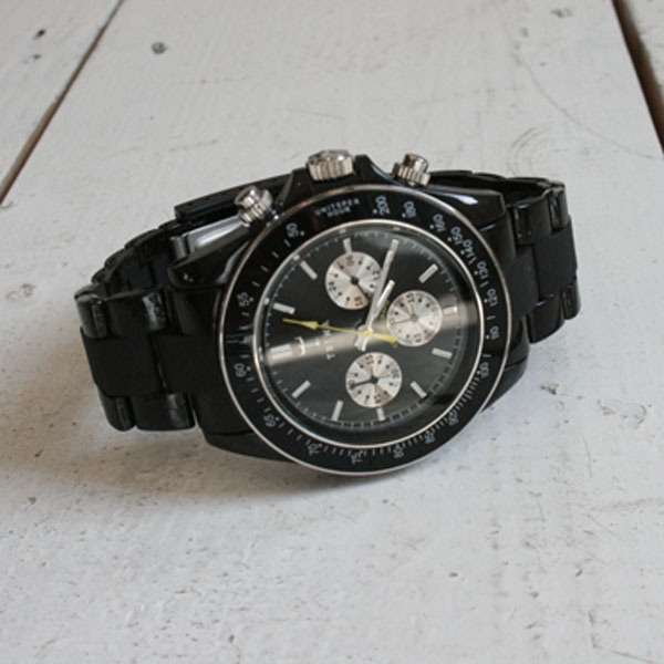 The 'Carbon Chrono' by Triwa 01