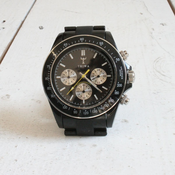 The 'Carbon Chrono' by Triwa 03