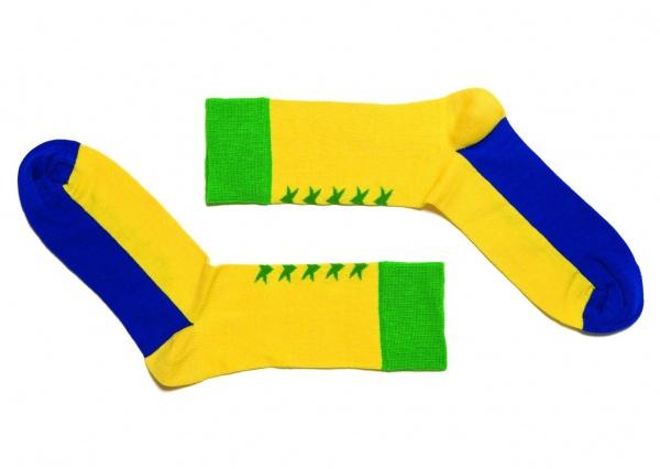 Happy Socks x Wong Wong World Cup 2010 Socks 02