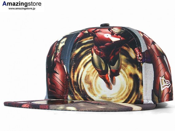 Marvel x New Era Iron Man 2 Caps 03