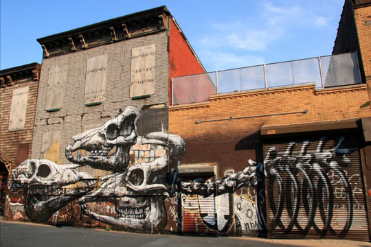 Roa in New York City 5