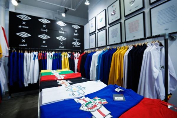 Umbro World Champions Pop-Up Shop at Norml 04