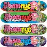 """5boro's """"The Ultimate Boro"""" Skateboard Decks"""