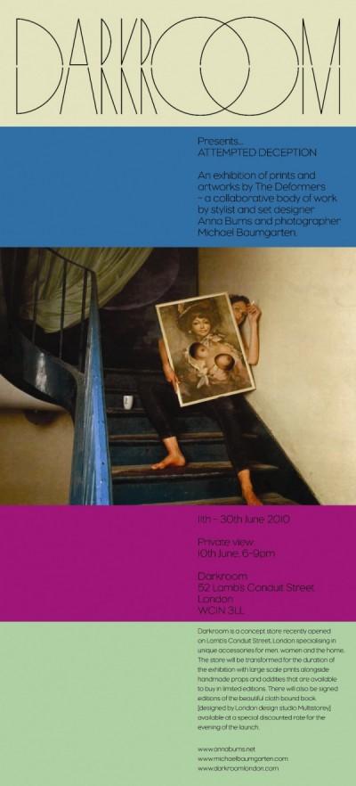 'Attempted Deception' Exhibit at Darkroom 1