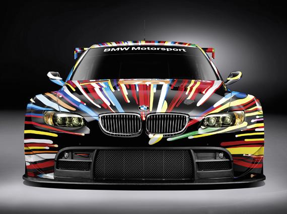 BMW M3 Art Car by Jeff Koons 1