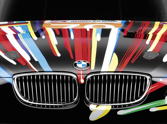 BMW M3 Art Car by Jeff Koons 2