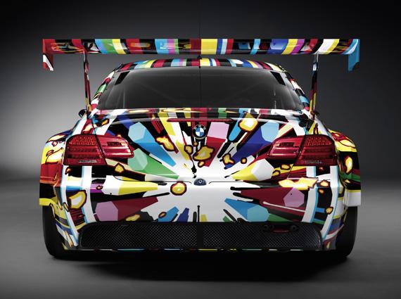 BMW M3 Art Car by Jeff Koons 3