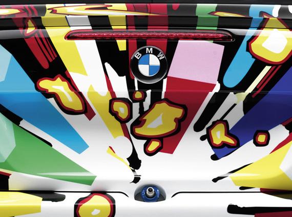 BMW M3 Art Car by Jeff Koons 4