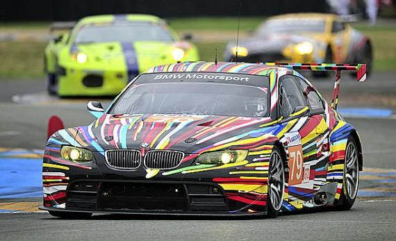 BMW M3 Art Car by Jeff Koons 5