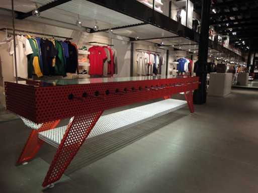 Nike Stadium Milan's 11-A-Side Foosball Table 02