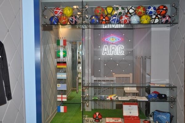 Umbro World Champions Pop-Up Shop at ARC 03