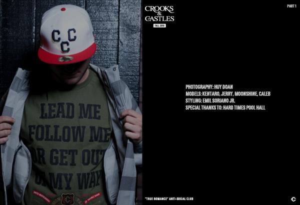 Crooks & Castles Fall 2010 'True Romance' Lookbook 16