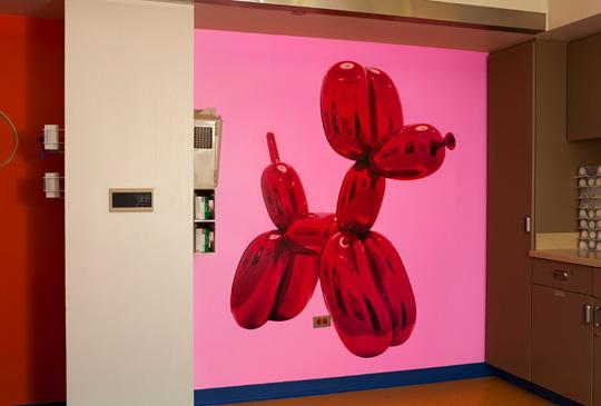 Jeff Koons for RxArt at Advocate Hope Children's Hospital 03
