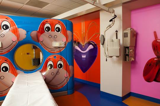 Jeff Koons for RxArt at Advocate Hope Children's Hospital 04