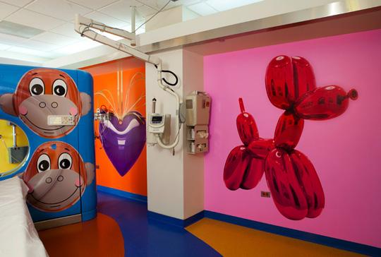 Jeff Koons for RxArt at Advocate Hope Children's Hospital 05